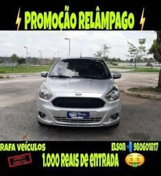 Mega promoção ford ka 1.5 sel 2016 com r$ 1.000 mil de entrada - 2016