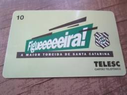 Cartão Telefônico Figueirense Futebol Clube