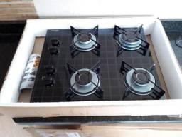 Fogão Cooktop 4 bocas Fischer - Sem uso
