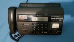 Fax Panasonic kx FT987 c/ secretária eletrônica.