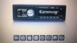 Oferta auto radio novo na caixa c/Bluetooth e controle