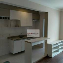 Apartamento com 1 dormitório para alugar, 45 m² por r$ 2.200/mês - várzea da barra funda -