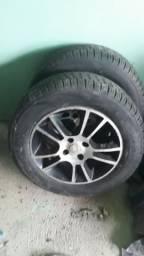Aro 15 do Vectra com 3 pneus