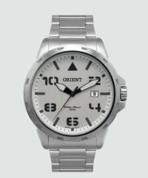 Relógio Orient Masculino - Aço - Data - WR 50m - Novo na Caixa Lindo
