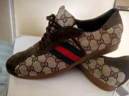 Tênis Gucci italiano Original