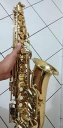 Sax alto Eagle semi novo