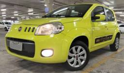 Fiat Uno Way 1.0 2012, completo, impecável e única dona - 2012