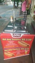 Vendo carrinho de cachorro quente $ 1.500,00