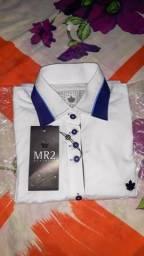Camisa clássica feminina Mr2 original