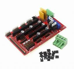 Placa Ramps 1.4 Reprap Impressora 3d Cnc Importada arduino