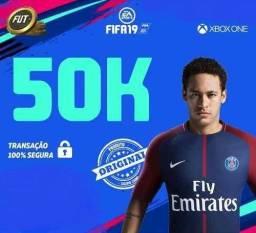 FIFA 19 Coins 50k para XBOX ONE