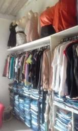 Lote de roupas 100 peças Bazar da Rai