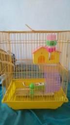 Gaiola/casinha para hamster