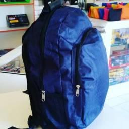 Mochila escolar infantil azul. Loja mk Araquari Whats 999544896