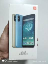 Xiaomi mi a2 4gb/64gb gold versão global lacrado original novo