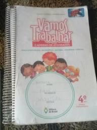 Caderno de atividade VAMOS TRABALHAR4°ano