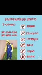 Dedetização -98805.7637 cel e WhatsApp(atendimento imediato)