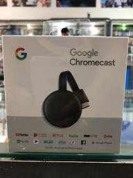 Chromecast do Google sendo a Última Versão
