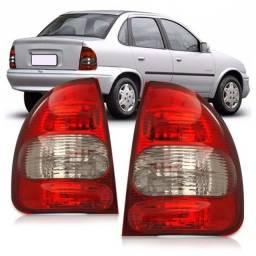 Lanterna trazeira corsa wagon/pick-up fumê o par , obs: posso instala
