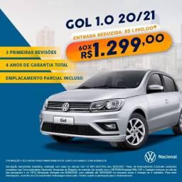 VW - Gol 1.0 MPI 2021 (Zero Quilômetro)