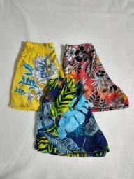 Short feminino moda praia
