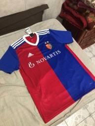 Título do anúncio: Camisa Adidas Basel home 2018/19 - Tamanho P