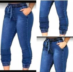Calça jogger jeans feminina atacado e varejo