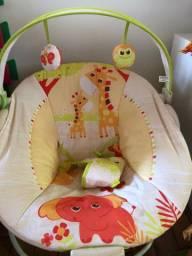 Cadeira de Descanso Mastela Musical e Vibratória Girafa
