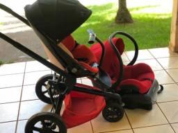 Carrinho de bebê Quinny Mood e bebê conforto  Maxi Cosi (importados)