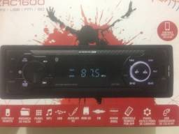 Radio novo com Bluetooth  pen drive  aux  controle