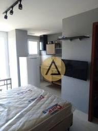 Título do anúncio: Flat para alugar, 52 m² por R$ 1.400,00/mês - Praia Campista - Macaé/RJ