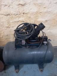Compressor com Serra elétrica