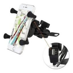 Suporte celular moto xls USB 2A CD-3072 40038-019