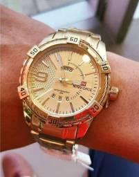 Relógio Naviforce Gold Intense