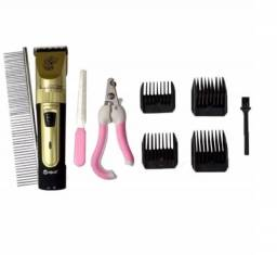 Máquina De Tosa Grooming Hair e Kit tosa