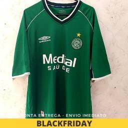 Título do anúncio: Camisa Guarani Futebol Clube Medial Saúde 2003 Semi-nova