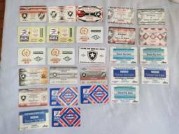 Título do anúncio: 26 Ingressos - Cartões magnéticos - Jogos Botafogo - Raros! (Todos por 150,00)