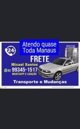 Título do anúncio: Frete Atendo quase Toda Manaus