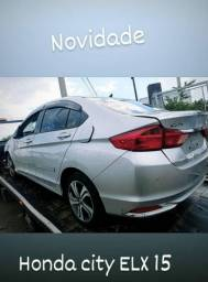 Honda city exl CVT 2015 1.5 automático para comercialização de peças
