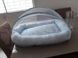 Ninho de bebê com mosquiteiro 120 real