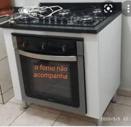 Título do anúncio: VENDO COOKTOP 5 BOCAS FISCHER COM BALCÃO USADO