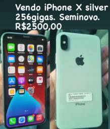 Título do anúncio: Vendo iPhone X 256gigas R$2500