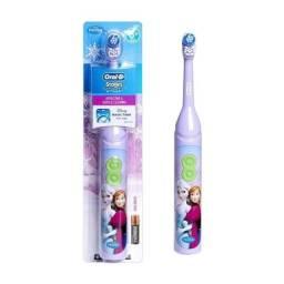 Escova de dente eletrica infantil importada FROZEN