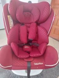 Título do anúncio: Cadeira  Isofix e rotação 360º  - Fisher Price
