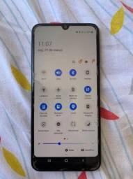 Samsung m30 semi-novo com caixa , completo c/ nota
