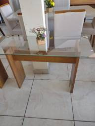 Título do anúncio: mesa aparador 100% mdf com vidro transparente