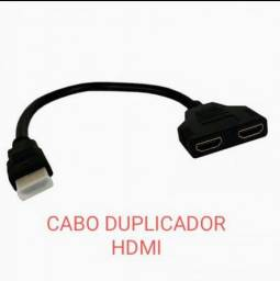Título do anúncio: CABO DUPLICADOR DE HDMI, TV, NOTEBOOK, TV BOX,DVD