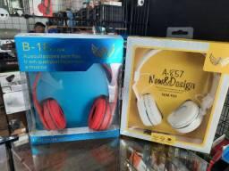 Fone De Ouvido Sem Fio Stereo Bluetooth A-857 Confortavel