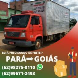 Título do anúncio: FRETE GOIÁS - PARÁ