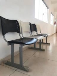 Título do anúncio: Cadeiras de espera 4 Lugares